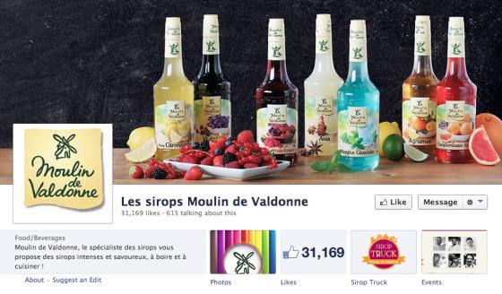 Les sirops Moulin de Valdonne