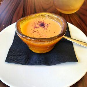 Gaspacho de tomate et mascarpone