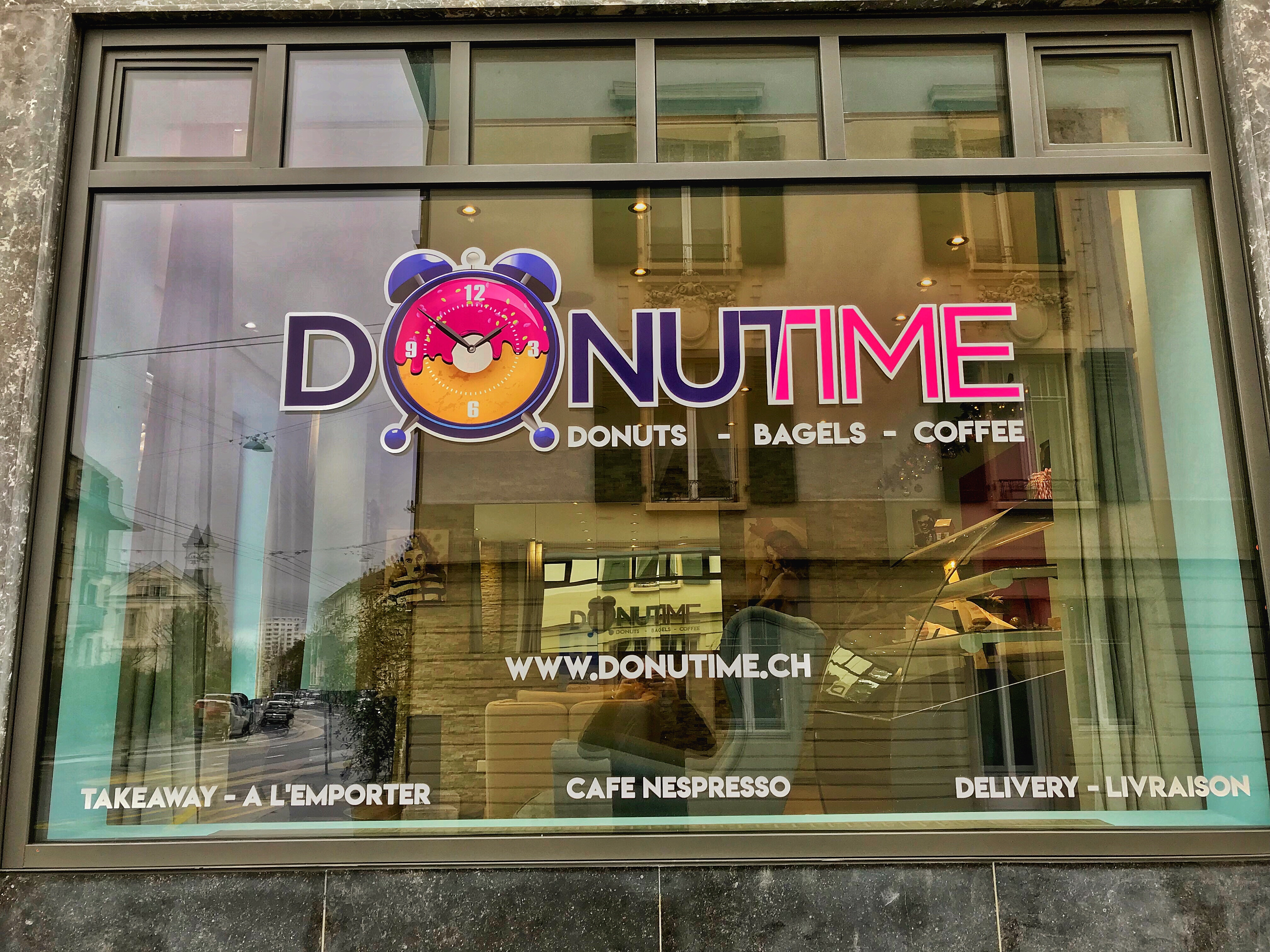 Donutime : Devanture