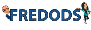 Fredods logo for the blog