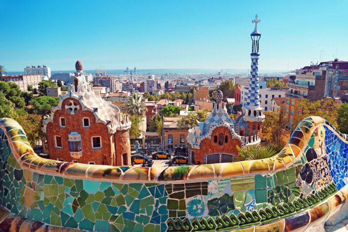 Barcelone parc Guell