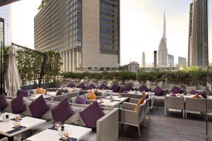 Terrasse du Roberto's Dubai